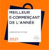 Meilleur E-Commerçant de l'année - 2020/21 - Catégorie Agences de Voyage