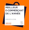 Meilleur E-Commerçant de l'année - 2021/22 - Catégorie Agences de Voyage